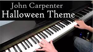 halloween john carpenter sheet music u2013 festival collections