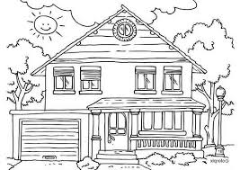 coloring page house gingerbread house coloring page 16176 bestofcoloring