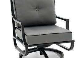 rocking patio chair aluminum swivel rocker patio club chair by