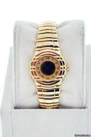 piaget tanagra piaget 18k yellow gold quartz dancer gents wristwatch 80317k81