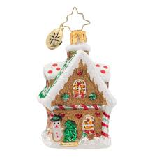 christopher radko ornaments 2016 radko sweet cottage gem