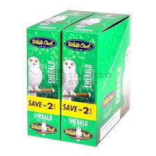 Emerald White Owl Cigarillos 30 Packs Of 2 Cigars Emerald Cigars