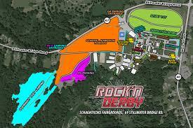 Lollapalooza Map Festy News Updated U2013 Rock U0027n Derby Festival Coming To