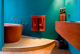 Bathroom For Kids - 25 bathrooms that beat the winter blues with a splash of color