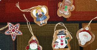 painted paper bag ornaments school specialty