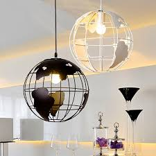 Pendant Light Shade Earth Globe L Light Iron Pendant L Light Shade 2 Color For