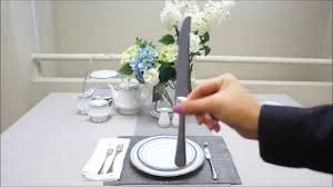Correct Table Setting by How To Set A Formal Table Setting By Noritake Australia Youtube