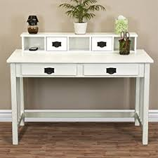 Solid Wood Desks For Home Office Best Choice Products Mission White Solid Wood Writing