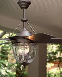 Outdoor Double Oscillating Ceiling Fans by Dark Aged Bronze Outdoor Ceiling Fan With Lantern Outdoor Areas