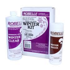 robelle dual 10 000 gallon swimming pool winter closing