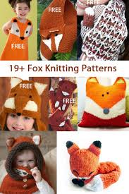 Knitted Cushions Free Patterns Fox Knitting Patterns In The Loop Knitting