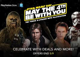 celebrate may 4th with playstation star wars deals on games and