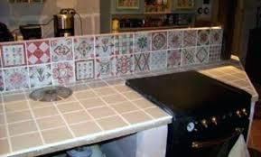 plan de travail cuisine en carrelage carrelage plan de travail cuisine luxe refaire joint carrelage plan