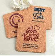 wedding coasters coaster wedding favors wedding coasters