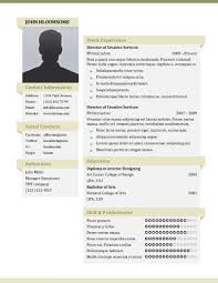 resume with picture template 49 creative resume templates unique non traditional designs