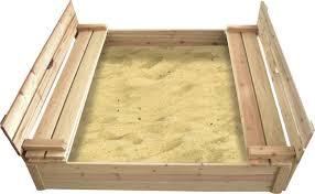 Sandboxes With Canopy And Cover by Badger Basket Cedar 4 U0027 Rectangular Sandbox U0026 Reviews Wayfair