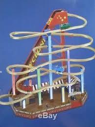 mr world s fair grand roller coaster gold label nib 50