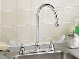 Moen Kitchen Faucets Lowe U0027s by Delta Single Handle Kitchen Faucet Delta Faucet 16953ssdst Grant