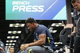 who were the strongest players at the 2017 nfl scouting combine