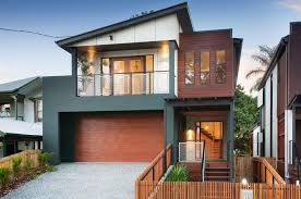 Home Design Lovely Facade Modern Contemporary House With Terrace - Modern minimalist home design
