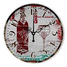 Design Home Decor Wall Clock by Decorative Kitchen Wall Clocks Promotion Shop For Promotional