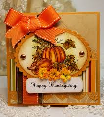 handmade happy thanksgiving card ich fall colors fall