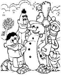 free sesame street coloring pages coloring