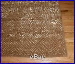 Pottery Barn Zig Zag Rug Pottery Barn Zig Zag Rug Brown 8x10 Chevron Wool New In Wrapping
