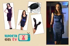 Pretty Liars Costumes Halloween Wornontv Spencer U0027s Blue 40s Style Halloween Dress Pretty