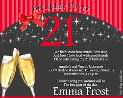 what to write 21st birthday card 21st birthday party invitation