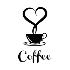 Coffee Cup Decoration Kitchen Coffee Shop Restaurant Wall Decor Decals Home Decorations 361