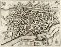 Ulm Germany Map by Ulm Merian Germany Baden Wurttemberg Ulm 1643