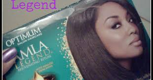 alma legend hair does it really work new optimum amla relaxer review the good the bad the burning