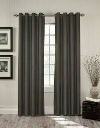 Steel Grey Curtains Furniture Idea Amusing Gray Grommet Curtains Belize
