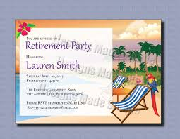 Printable Invitation Cards Free Printable Simple Retirement Party Invitation Template Card