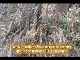How To Build Hunting Blind How To Build A Natural Ground Blind Youtube