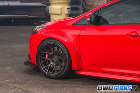 the ford agency ford focus st widebody fender flare kit by agency power