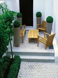 creating a patio container garden design small patio gardens