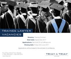 careers legal professionals triay u0026 triay
