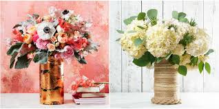 home decor flower decorate a glass vase glass vase crafts