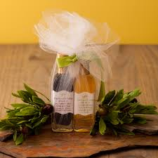 olive wedding favors and balsamic wedding favor paul artisans of