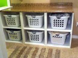 Laundry Hamper Built In Cabinet Laundry Room Ideas Prodigious 10 Laundry Room Baskets Shelves
