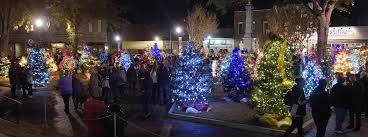 festival of lights kicks in downtown jasper daily mountain eagle