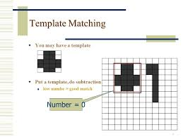lecture 3 template matching edge detection 2 processes for