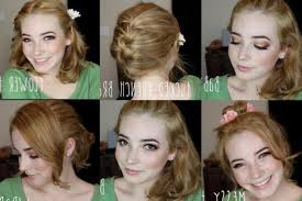 open hairstyles for round face dailymotion easy hairstyles medium hair for schoolte fine updos thin youtube