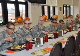 military thanksgiving feeding an army on thanksgiving cbs st louis