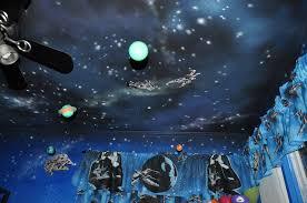 uncategorized star wars nursery bedroom art painted ceiling star