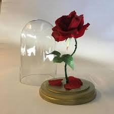 beauty and the beast light up rose round metal and wood honeycomb wall from cost plus world market