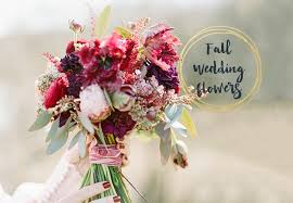 wedding flowers images 6 stunning fall wedding bouquets b lovely events