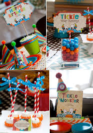kara u0027s party ideas tickle monster second birthday party planning